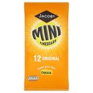 Jacobs Mini Cheddars Snacks 12 X 25 G Half Price