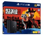 Sony 1TB Black PS4 Pro with Red Dead Redemption 2 Only £344.97