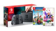 Nintendo Switch Grey, Sports Party and Just Dance 2019 Only £309.85