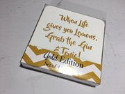 The Leonardo Collection Gold Edition Set of 4 Gin Coasters