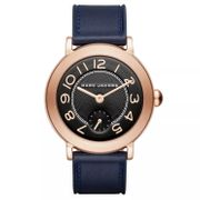 Marc Jacobs Riley Ladies' Rose Gold Tone Strap Watch