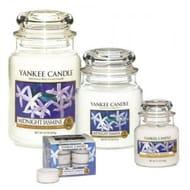 Yankee Candle Midnight Jasmine Signature Jar and Tea Light Collection