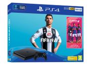 LAST CHANCE! Playstation PS4 Slim 500GB Console+ FIFA19 (EXTRA 15% OFF THURSDAY)