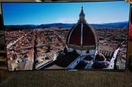 55 LG OLED55C6V 4K OLED Ultra HD HDR Curved Freeview HD Smart 3D TV