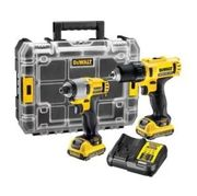 DeWalt 10.8V 2 X 2.0Ah XR Cordless Drill and Impact Driver Twin Pack