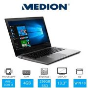 "Medion S3409 laptop,13.3"",256gb SSD,4gb Ram, I3 7100U CPU £329.99@Laptops Outlet"