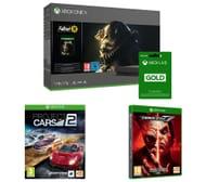 Xbox One X, Fallout 76, Tekken 7, Project Cars 2 & Xbox LIVE Gold Bundle