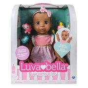 SAVE £30 LUVABELLA - the Adorable Interactive Doll - Dark Brown Hair Version