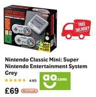 Nintendo Classic Mini: Super Nintendo Entertainment System (FREE DELIVERY)