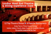 London West End Theatre & Dining Experience Day for Two