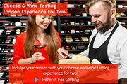Cheese & Wine Tasting London Experience for Two - Gift Experience for 2