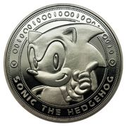 SEGA Sonic the Hedgehog - Limited Edition Coin: Silver Variant - Zavvi Exclusive