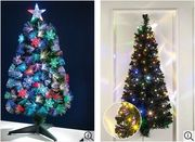 Pre-Lit & LED Fibre Optic CHRISTMAS TREES from £9.99 at STUDIO