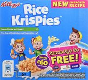 Kellogg's Rice Krispies Cereal and Milk, 6 Bars, Pack of 7