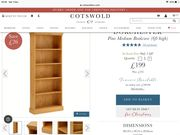 Dorchester Pine Bookcase