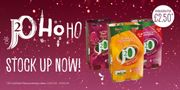 Pick up a 4 Pack J20 Glitterberry's for Just £2.50