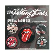 Official Rolling Stones Badge Set (Pack of 5)