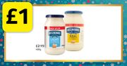 Hellman's Mayo for £1