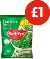 Bird's Eye Peas at £1