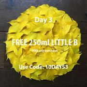 Free 250ml Little B Hair & Body Wash with Any Purchase