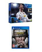 Sony PlayStation 4 500GB FIFA18 Bundle + Call of Duty WWII Only £310.99