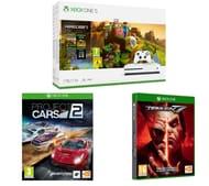 MICROSOFT Xbox One S, Minecraft, Tekken 7 & Project Cars 2 Bundle Only £249.99