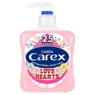 Carex Love Hearts Handwash 250Ml HALF PRICE