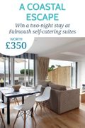 Win a Two-Night Stay at Falmouth Self-Catering Suites, worth £350!