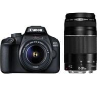 CANON EOS 4000D DSLR Camera & Lens Bundle