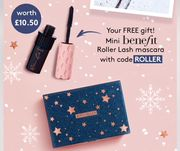 Get Free Mini Benefit Mascara with Your Order