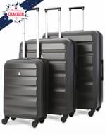 Aerolite ABS325 ABS Hard Shell Luggage Suitcase 3-Piece Set (21/25/29) £64.99