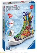 Ravensburger 12535 Graffiti Sneakers 108 Pieces 3D Jigsaw Puzzle Only £8.99
