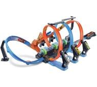 Hot Wheels Corkscrew Crash Track Set Only £28.99