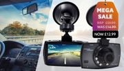 Hawk-Pro 2 in 1 HD Dash Cam & Collision G Sensor - Optional 32GB SD Card
