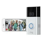 Ring Video Doorbell 2-1080p HD Video, Two-Way Talk, Motion Detection, Wifi