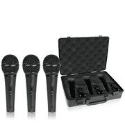 Behringer XM1800S Ultravoice Dynamic Microphone (Pack of 3)