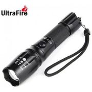 UltraFire LT - HJ Cree XML T6 2000Lm Zooming LED Flashlight Set