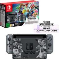 Nintendo Switch, Grey Edition, 32GB + Super Smash Bros. Ultimate [Digital Code]