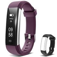 Sliwei Fitness Tracker, Heart Rate Monitor Activity Tracker