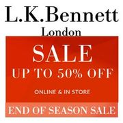 L K Bennett's END of SEASON SALE Has Started - up to 50% OFF