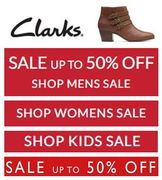 LOVE CLARKS? SHOE SALE'S Just Started! LOTS OF DEALS