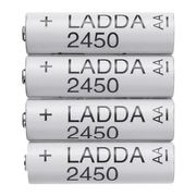 Ikea Ladda Rechargeable Batteries (4 Pack) Only £5.50