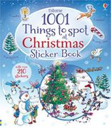 1001 Things to Spot at Christmas STICKER BOOK (Usborne) with 210 STICKERS!