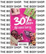 30% off Hundreds of Items at BODY SHOP with CODE + Free Delivery over £15