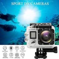 "PRO Cam WiFi 4K 16MP 2"" LCD Dual Screen Sports Action Camera Remote Control"