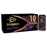 Strongbow Dark Fruit Cider 3 for £21 (30 Cans in Total)