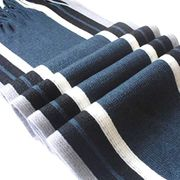 Mens Scarf Striped Tasselled Edge £3.38 Delivered 6 Colours