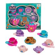 £7.96 for Tea Set Cake Toy Role Play Food Game 18 Pcs Birthday Gifts