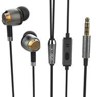 Earphones,Okun Easy Fit in Ear Earphones with Microphone at Amazon UK