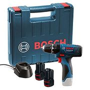 Bosch Professional Drill 06019F3070 Batteries Charger Carry Case